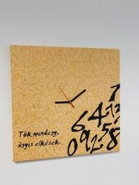 Úgyis elkések vászonkép óra