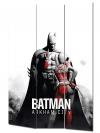 Vászon paraván 120x180 cm Batman Arkham City mintázattal