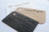 Gravírozott, papír névjegykártya